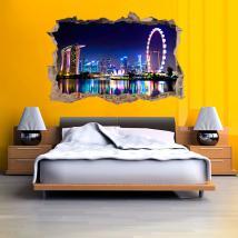 Vinyl 3D city Singapore