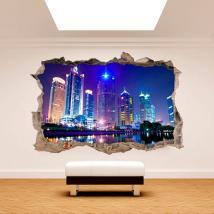 3D wall vinyl Shanghai China