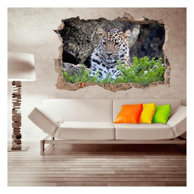 Vinyl 3D Jaguar
