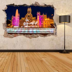 3D Madrid Cibeles vinyls