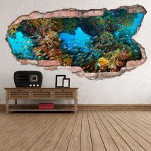 Vinyl marine life 3D