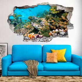 Vinyl 3D sea animals