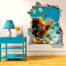 Vinyl 3D fish of the sea