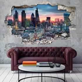 Vinyl 3D city of London