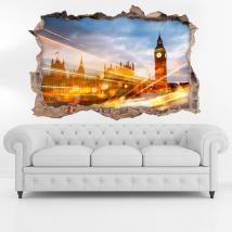 Vinyl London City 3D
