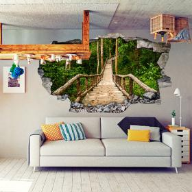 Vinyl stair nature 3D