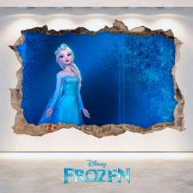 Vinyl 3D Disney Frozen hole wall English 4685