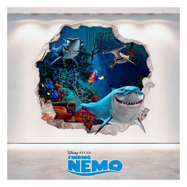 Vinyl 3D Disney Finding Nemo