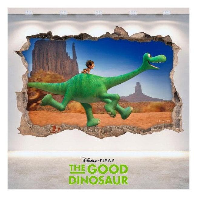 Vinyl 3D Disney trip Arlo hole wall English 4750