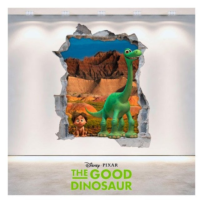 Vinyl Disney trip Arlo hole 3D wall