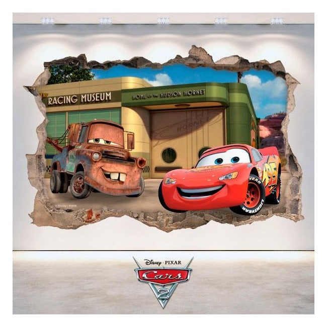Disney Cars 2 3D vinyl English 4808