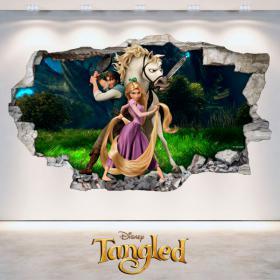 Adhesives Disney tangled Tangled 3D