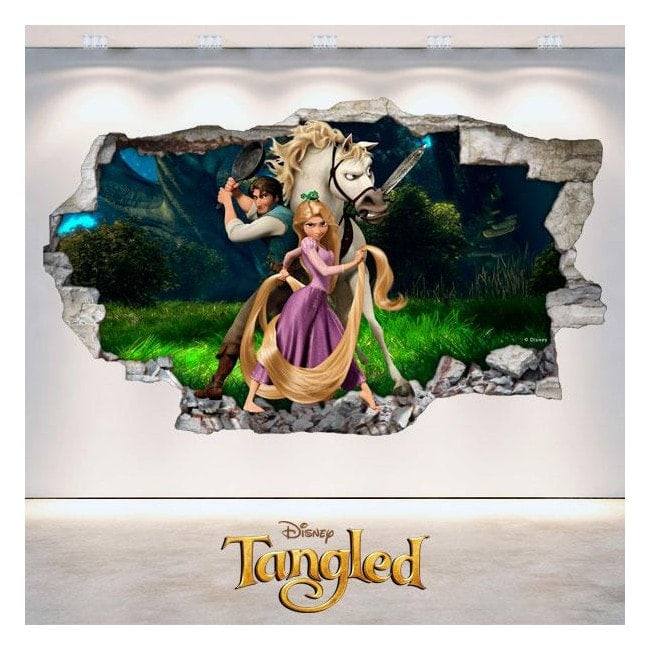 Adhesives Disney tangled Tangled 3D