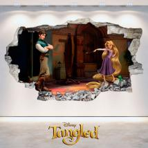 Disney Tangled tangled 3D stickers