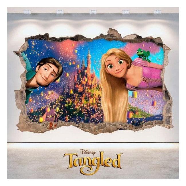 Tangled Disney Tangled 3D vinyl