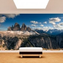 Photo wall murals mountains Alps