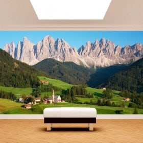 Photo wall murals Dolomites Italy mountains