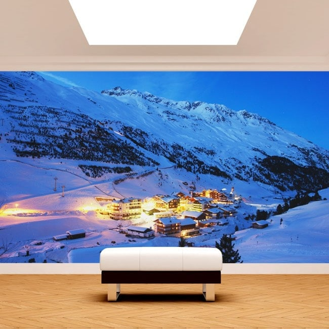 Photo wall murals Austria Alps mountains