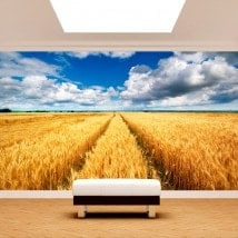 Photo wall murals nature pins
