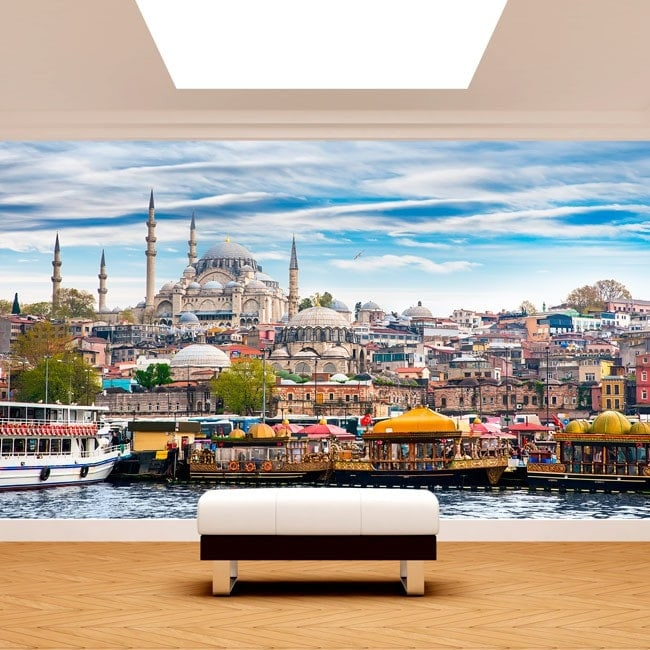 Photo wall murals cities Istanbul