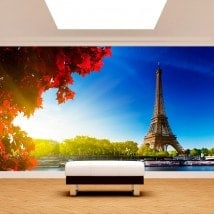 Photo wall murals Tower Eiffel Paris