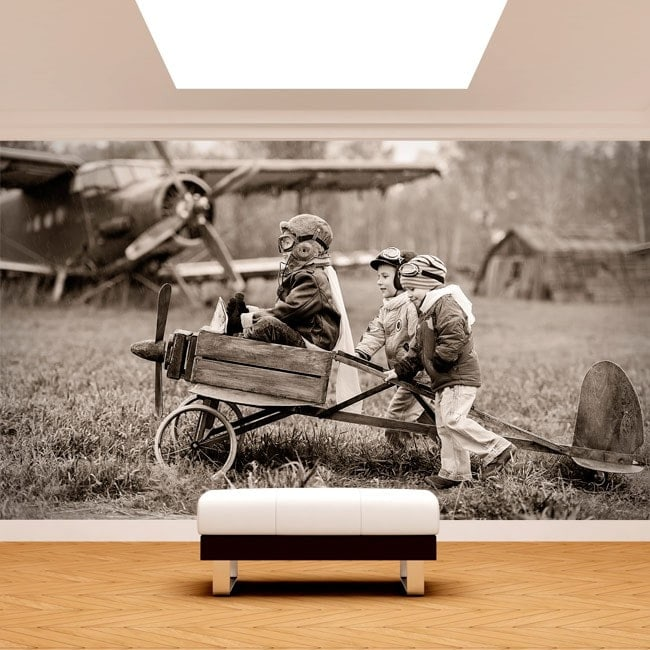 Children Fotomural and aircraft
