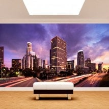 Photo wall murals Los Angeles City