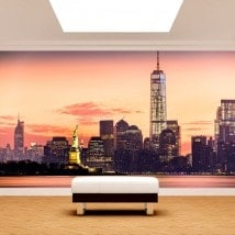 Photo wall murals New York English 4978