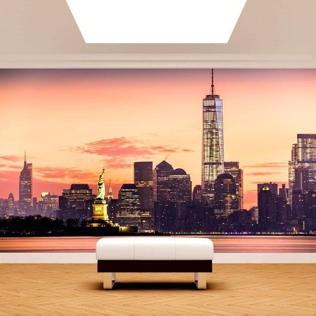 Photo wall murals New York English 4978