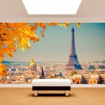 Photo wall murals Paris Eiffel Tower