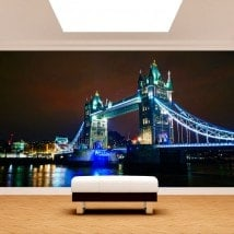 Photo wall murals London bridge tower