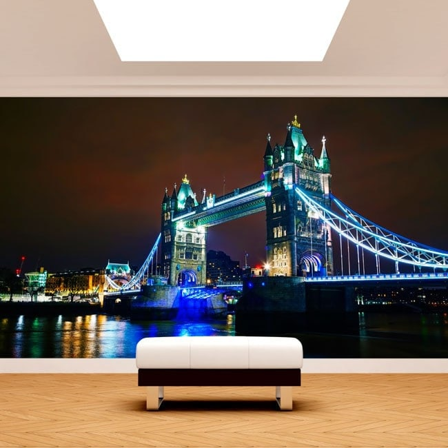 Photo wall murals London bridge tower