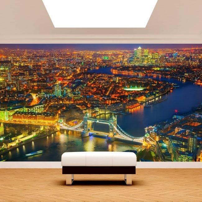 London night photo wall murals