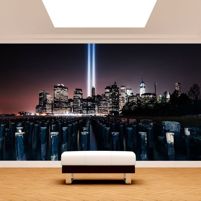 Photo wall murals New York English 5000