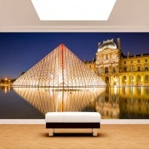 Photo wall murals Paris Louvre Museum