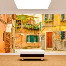 Photo wall murals Venice streets