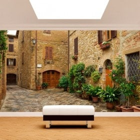 Photo wall murals Italy streets