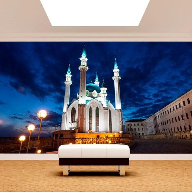 Photo wall murals mosque Qol Šari