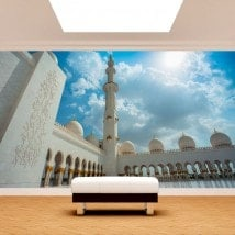 Photo wall murals mosque Sheikh Zayed