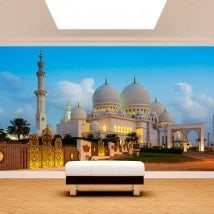 Photo wall murals vinyl mosque Sheikh Zayed