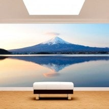 Photo wall murals Mount Fuji Lake Kawaguchi