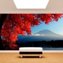 Photo wall murals Wall Mount Fuji
