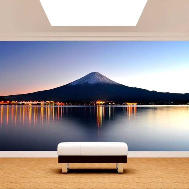 Fotomural Mount Fuji Lake Kawaguchi