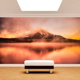 Fotomural Lake Kawaguchi Mt. Fuji