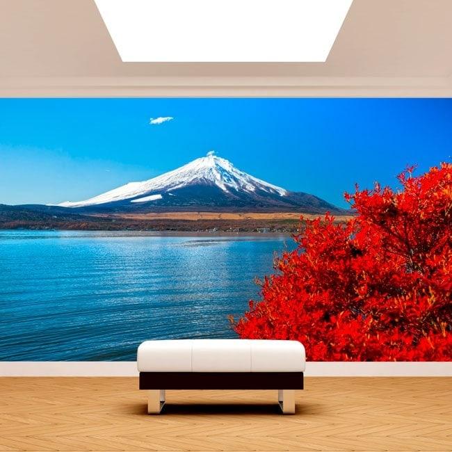 Lake Kawaguchi Mt. Fuji Photo wall murals