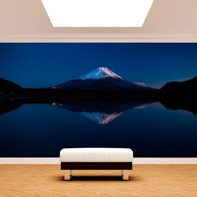Photo wall murals Lake Kawaguchi and Mt.Fuji