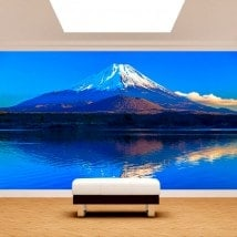 Fotomural Wall Mount Fuji English 5028