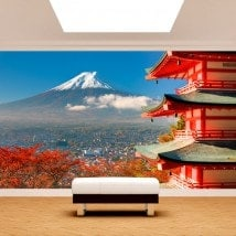 Fotomural Wall Mount Fuji English 5029