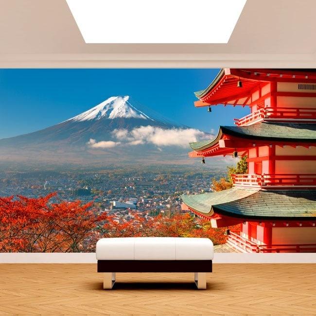 Fotomural Wall Mount Fuji English 5029
