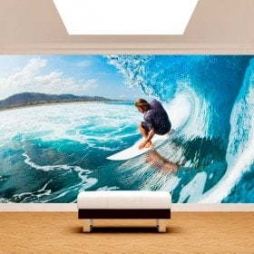 Photo wall murals Surf Hawaii
